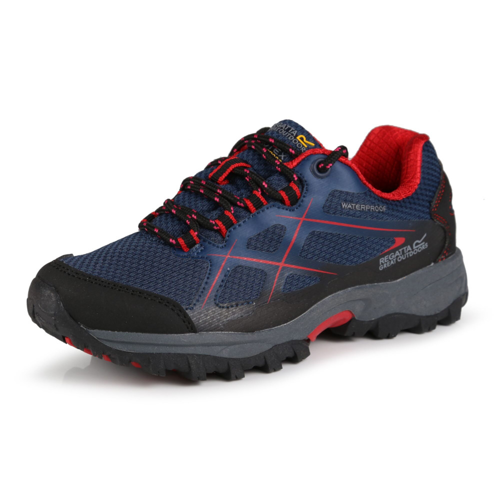 Regatta Boys & Girls Kota Low Isotex Waterproof Fabric Walking Shoes UK Size 2 (EU 34)