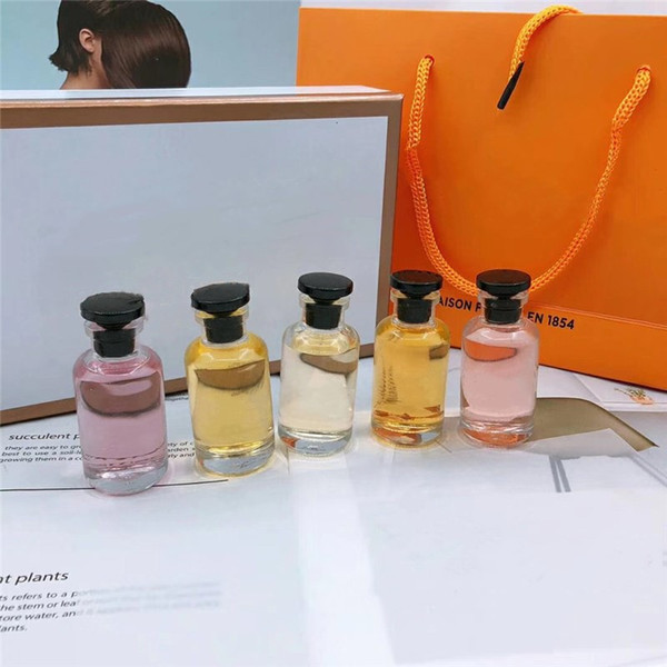 Top fashion High Quality Lady Fragrance Collection 5pcs set 5 in 1 Perfume Spray Perfume 10ML*5pcs For Women