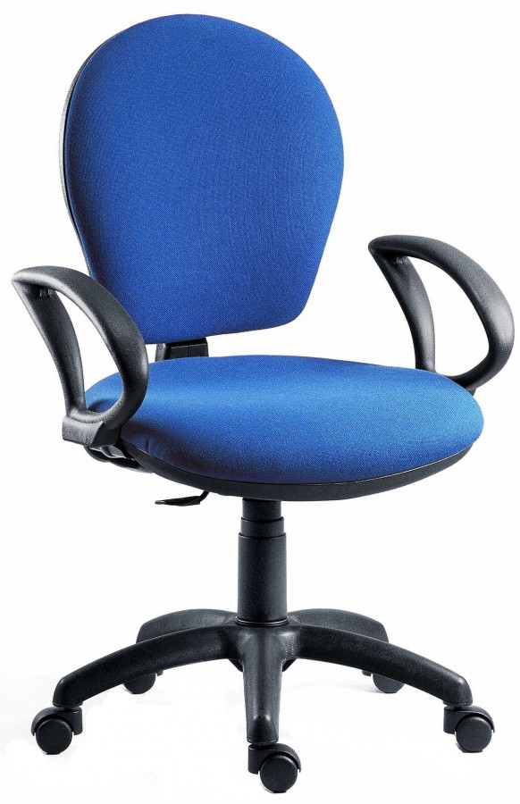 Fraser Charcoal Office Chair