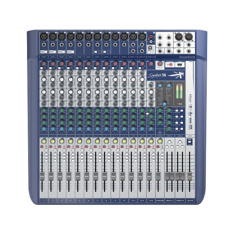 Soundcraft Signature 16 Kompaktmixer