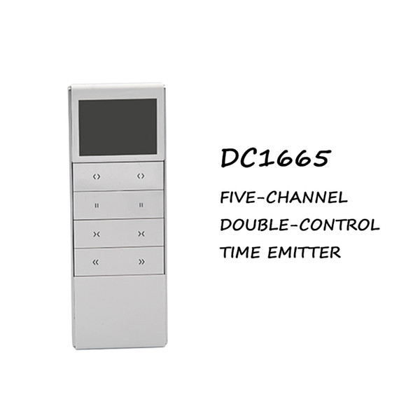 dooya 5 channel dc1665 5-channel double-control time remote control transmitter