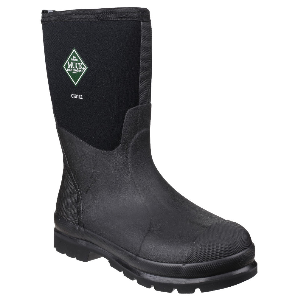 Muck Boots Mens Chore Classic Mid Warm Breathable Wellington Boot UK Size 12 (EU 47, US 13)