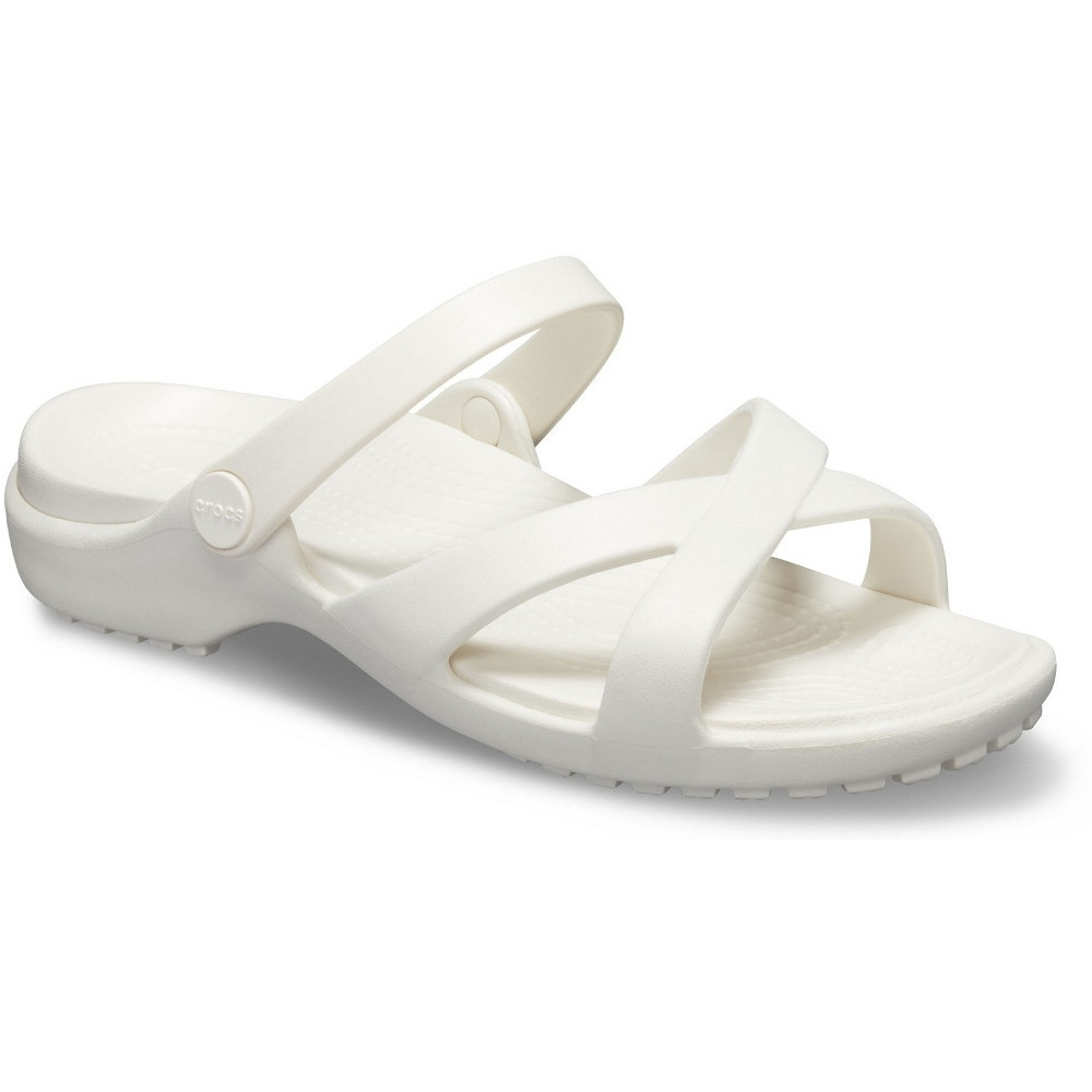 Crocs Womens Meleen Crosband Slip On Summer Slider Sandals UK Size 3 (EU 34.5)