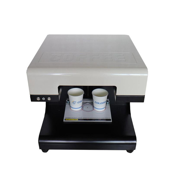 2020 New Coffee Printer 2 Cups USB DIY Design Print Machine 110V 220V For Cookies Coffee Yogurt Printing