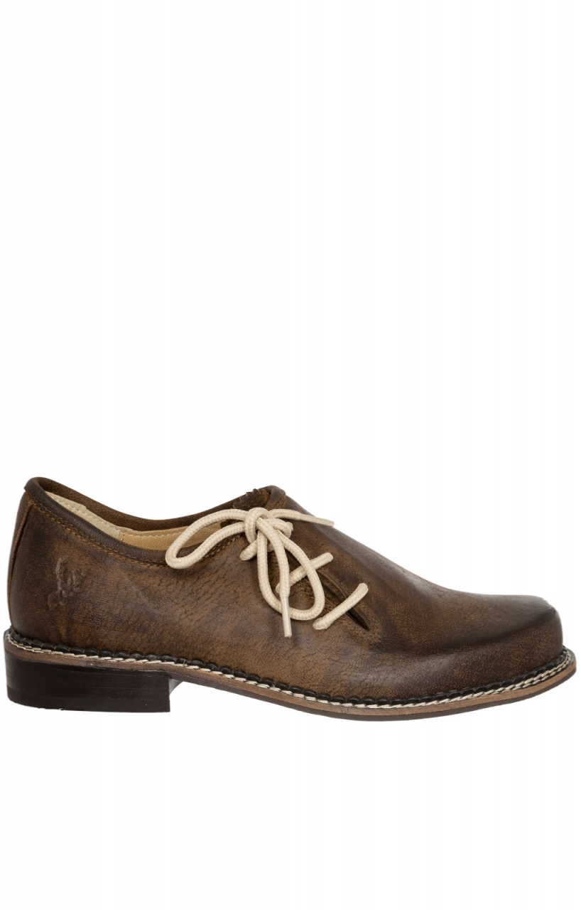 German traditional shoes H547 JAEGER brown rustica