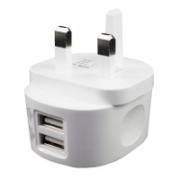 IS19 - AC USB Charger 2.4A with 2 Outputs