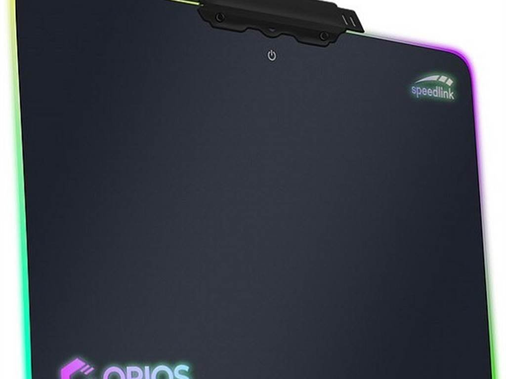 Speed-Link ORIOS RGB Gaming Mousepad (schwarz)