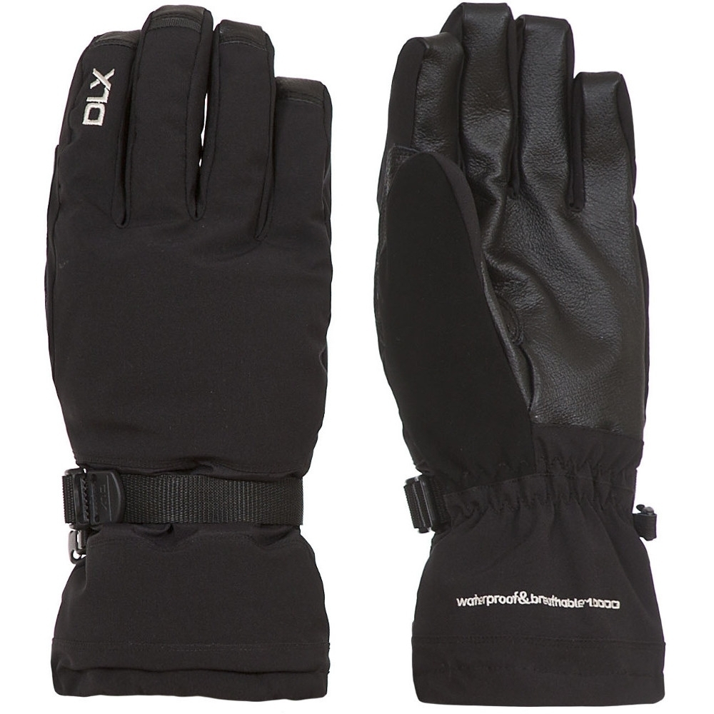 Trespass Mens Spectre Waterproof Breathable Padded DLX Stretch Gloves Medium