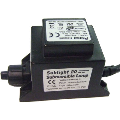 PondXpert SubLight 20w Transformer