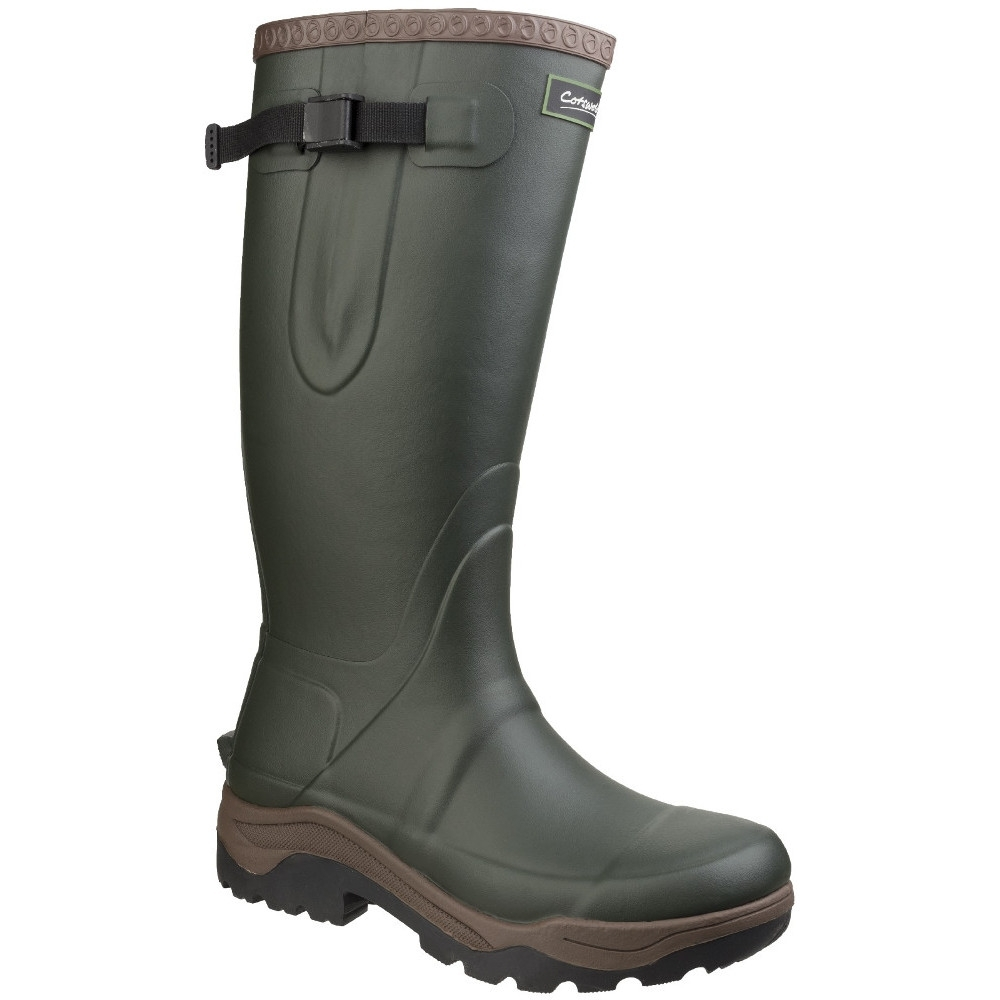 Cotswold Mens Compass Neoprene Slip Resistant Rubber Wellington Boots UK Size 10 (EU 44, US 11)