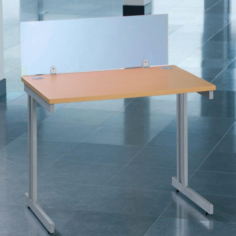 Colourful Acrylic Desk Screen - 1000mm