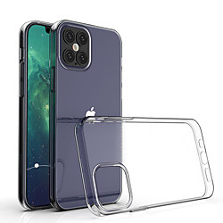 étui en silicone souple antichoc transparent pour iphone 12 11 pro max x xr xs 8 7 6 6s plus se 2020 étui 360 housse de protection en silicone