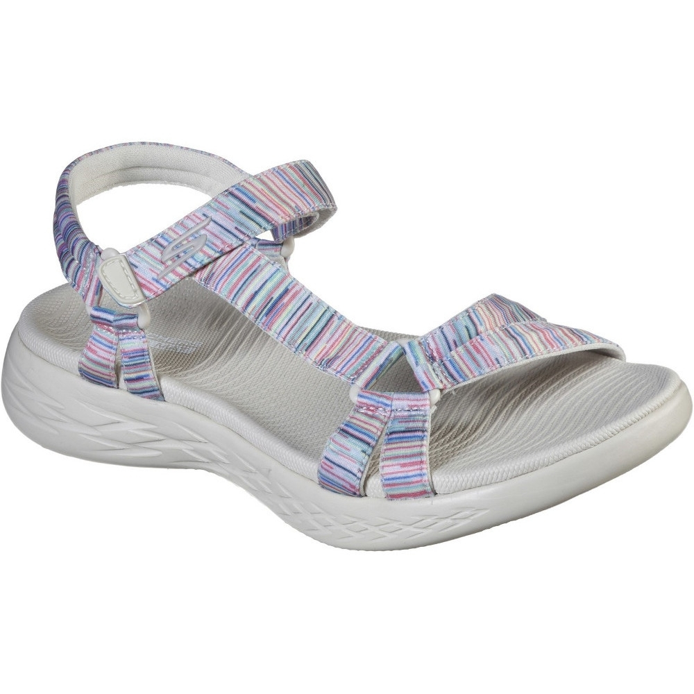 Skechers Womens On The Go 600 Electric Lightweight Sandals UK Size 7 (EU 40)