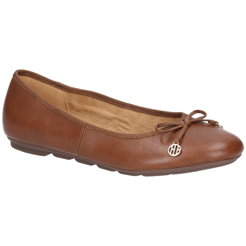 Hush Puppies Womens Abby Bow Ballet Slip On Flat Pumps Shoes UK Size 8 (EU 42)