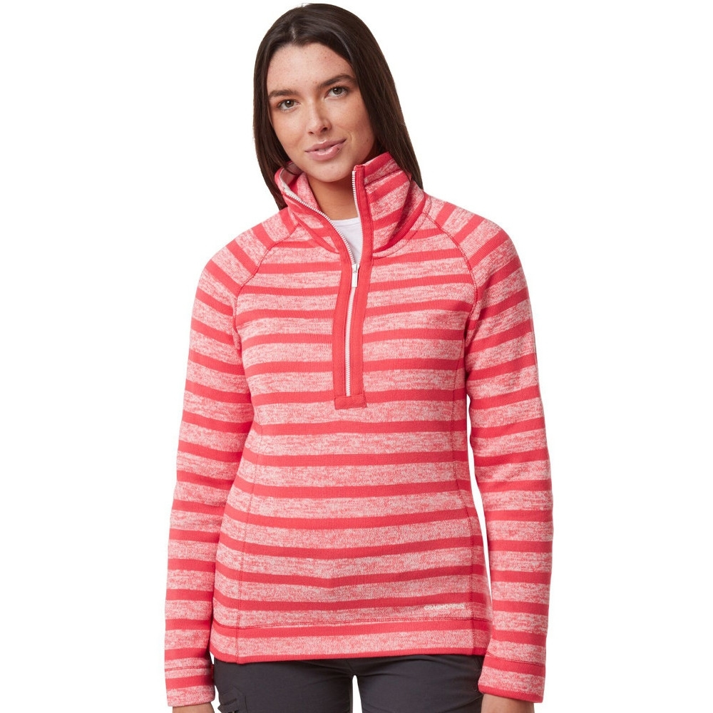 Craghoppers Womens Alphia Insualted Half Zip Fleece Jacket 18 - Bust 42' (107cm)