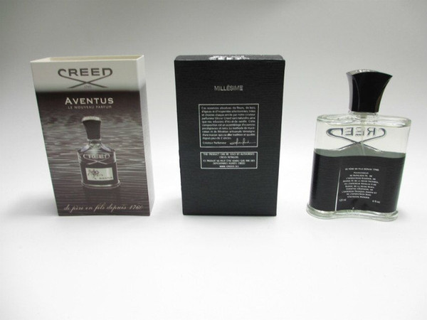 Whosale!!! New Creed aventus perfume for men cologne 120ml with long lasting time good smell high fragrance capactity free shipoing