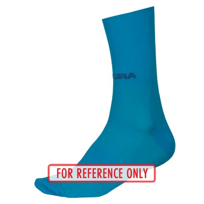 ENDURA Pro SL Sock II HiVizBlue-L-XL