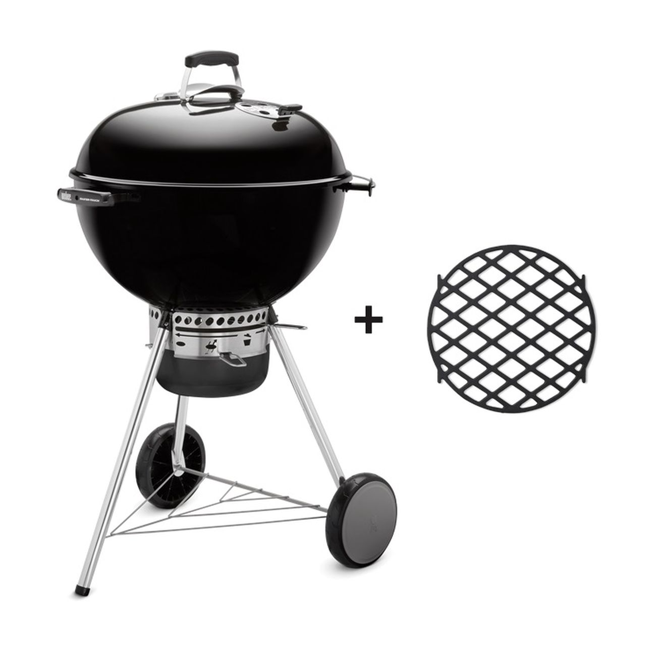 Weber Master-Touch GBS 57cm mit GBS Sear Grate