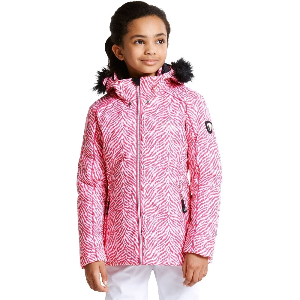 Dare 2b Girls Entrust II Polyester Waterproof Breathable Coat Jacket 11 Years - Chest 28' (71cm)