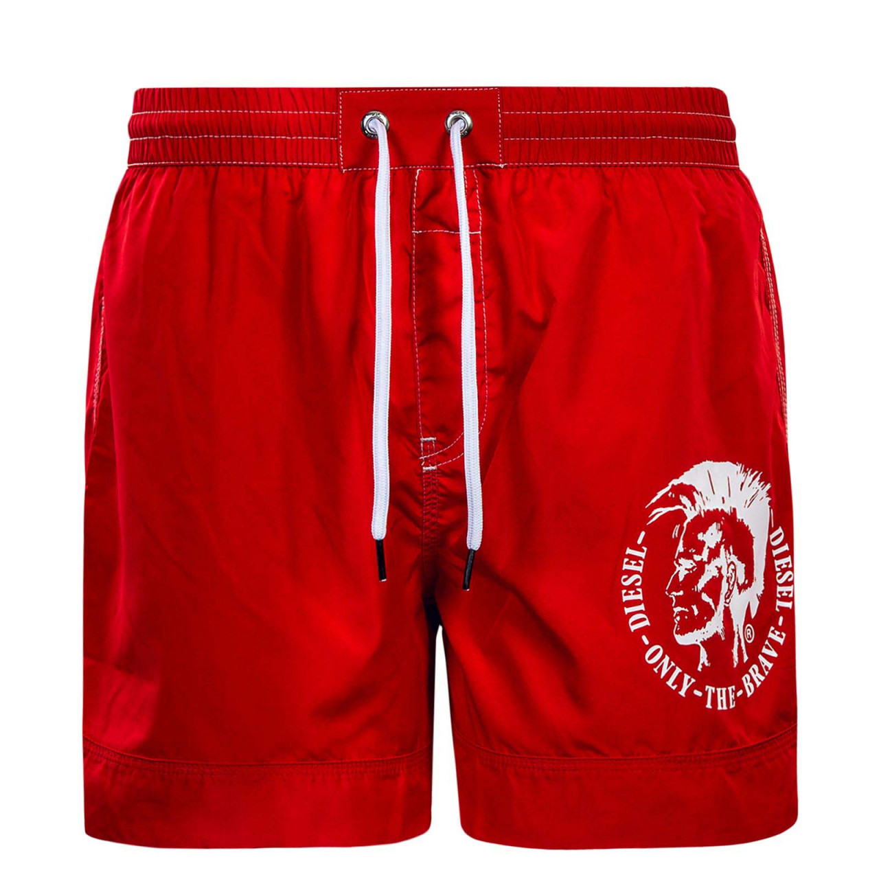 Diesel Boardshort BMBX Wave Red White
