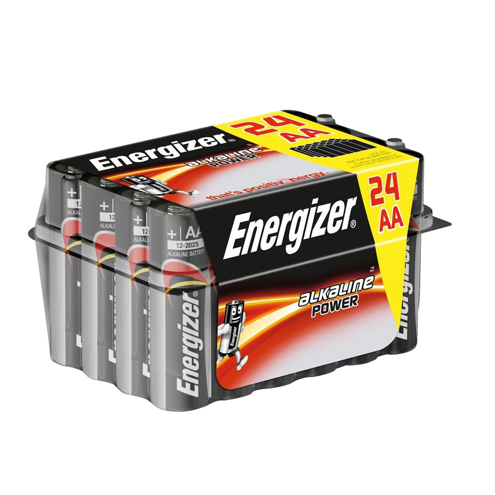 Energizer AA Batteries High Power Alkaline LR6 MN1500 - Value 24 pack