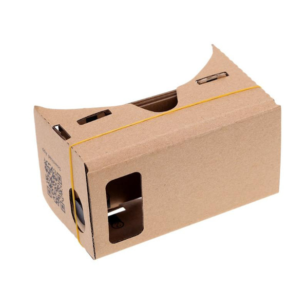 3D Wearable Device For Mobile Phone Cardboard DIY Google Ultra Clear Viewing Theater Film Glasses Set