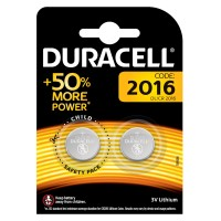 DL2016B2 3V Button Cell Battery - Twin Pack