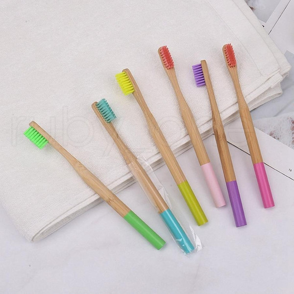 natural bamboo toothbrush tools wood cepillo de dientes soft bristles natural eco bamboo fibre travel wooden handle toothbrush