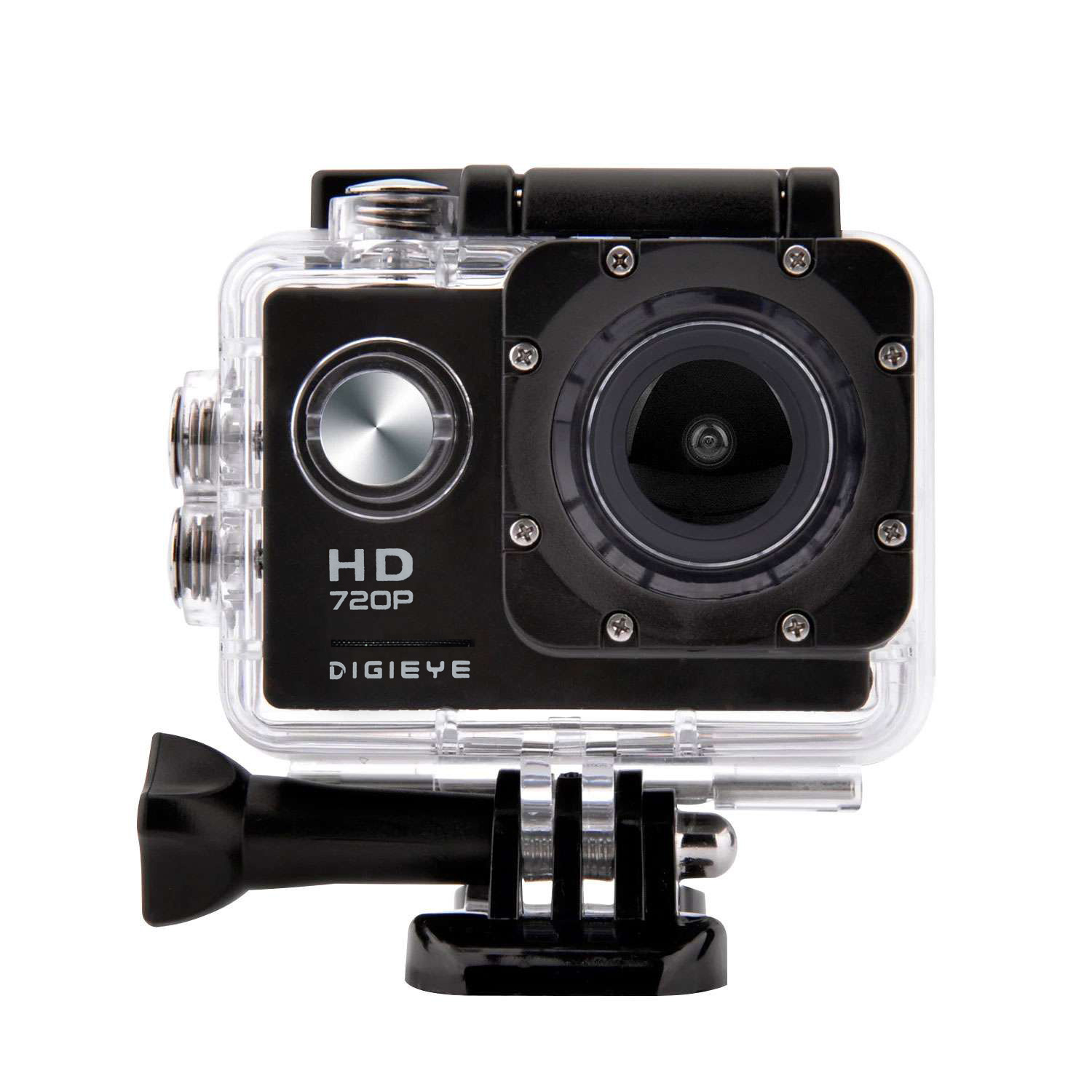 Digieye 720P Waterproof HD Action Camera Kit with 2