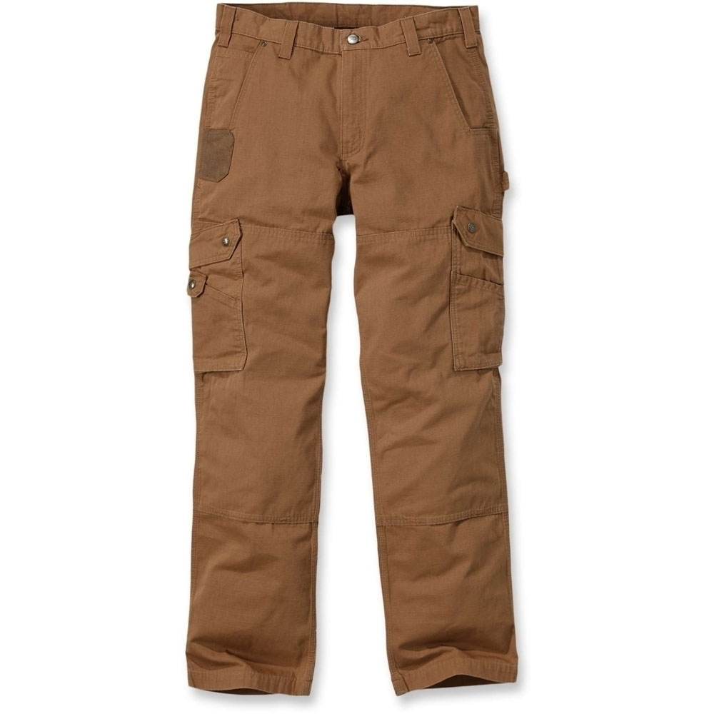 Carhartt Mens Cotton Nylon Ripstop Relaxed Cargo Pants Trousers Waist 34' (86cm), Inside Leg 32' (81cm)