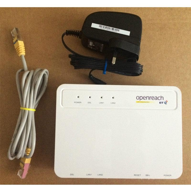 BT Openreach Huawei VDSL / FTTC Fibre Modem - Refurbished (HG612)