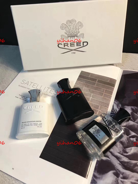 halloween 30ml*3 creed cologne perfume for men with long lasting high fragrance set box gif shopping