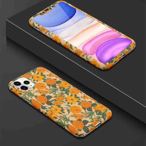 phone case for iphone 11/11pro/11 pro max xr x/xs xsmax 7p/8p 7/8 6p/6sp 6/6s fashion plastic back cover with flower print wholesale