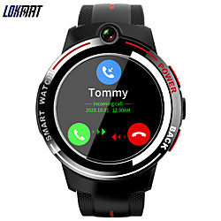 lokmat LOK02 Men Women Smartwatch Android iOS WIFI Bluetooth Touch Screen GPS Heart Rate Monitor Sports Calories Burned Timer Stopwatch Pedometer Call Reminder Activity Tracker
