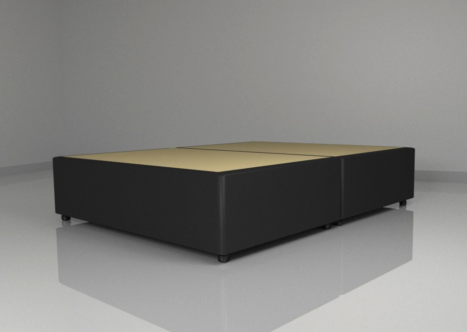 Leather Fabric Universal Divan Base