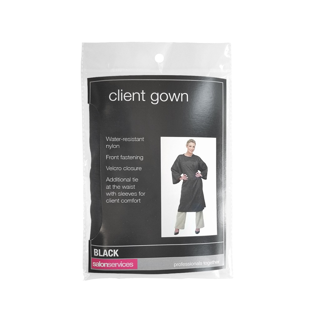 Salon Services Client Gown With Sleeves